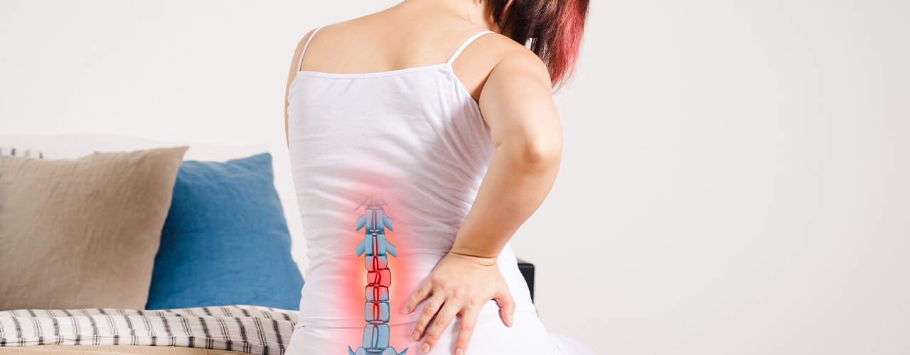 how a herniated disc may be to blame for your back pain